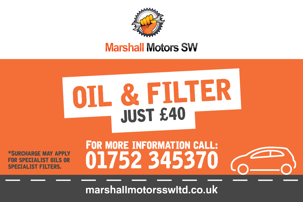 Oil & Filter Service Just £40
