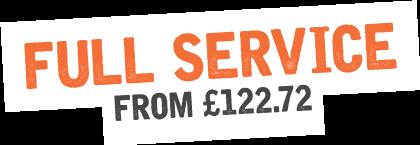 Full Service just £130